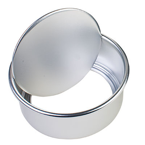 Commercial 8 Inch Aluminum Alloy Cake Pan Birthday Cake Mold Hot Sale Bread Baking Sheet Bakery Baking Tools