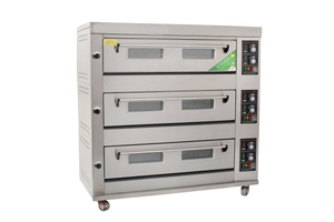 Economic Type 3 Decks 9 Trays Gas Deck Oven