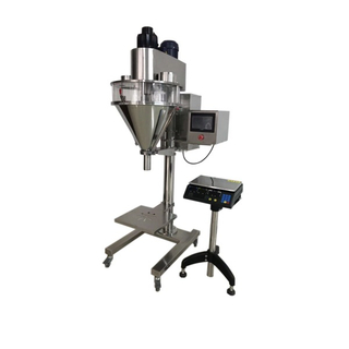 semi automatic bag pouch milk spice protein soda powder filling packing machine