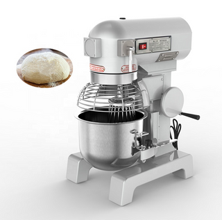Commercial 40 Liters Planetary Mixer 6-8 KG powder Kneading Cake Biscuits Cookies Cream Egg Butter Mixing Bakery Machine