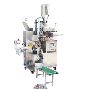 Automatic Inner And Outer Tea Bag Packing Machine with String And Tag , Filter Tea Bag Packing Machine , Small Tea Bag Packing Machine
