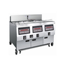 OFE-323 Comptuer Panel Electric Double Tanks Open Fryer (Three Tanks Six Baskets)