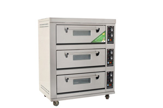 Economic Type 3 Decks 6 Trays Electric Deck Oven