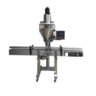 automatic cans bottle jar powder auger filling packaging machine