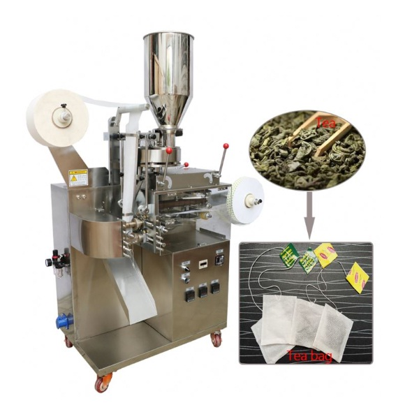Automatic Single Layer Filter Tea Bag Packing Machine With Label