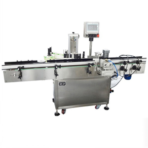 Automatic Bottle Wrap-around Labeling Machine Round Glass Bottle Labeling Machine Bottle Labeler