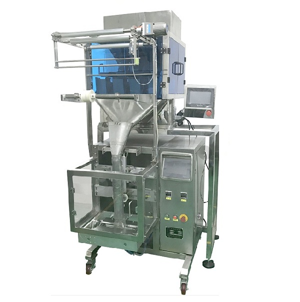 Automatic whole coffee beans grains grass seeds rice nuts dried fruit peanuts frozen raisins granular product VFFS bagger